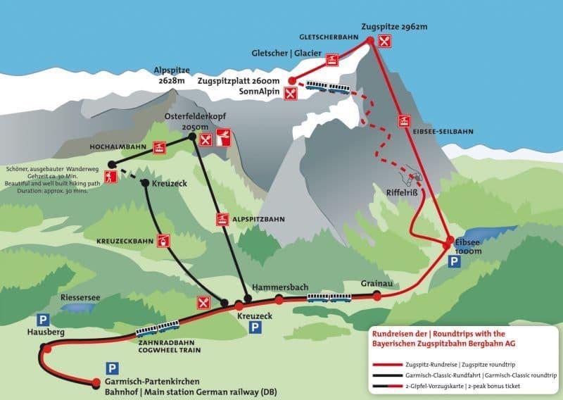 3-Zugspitze map