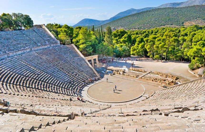 14-Peloponnes-Epidaurus-amphiteatre