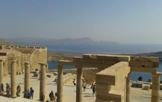 Greece-rodos-lindos-acropolis