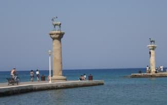 Rodos-town-harbour