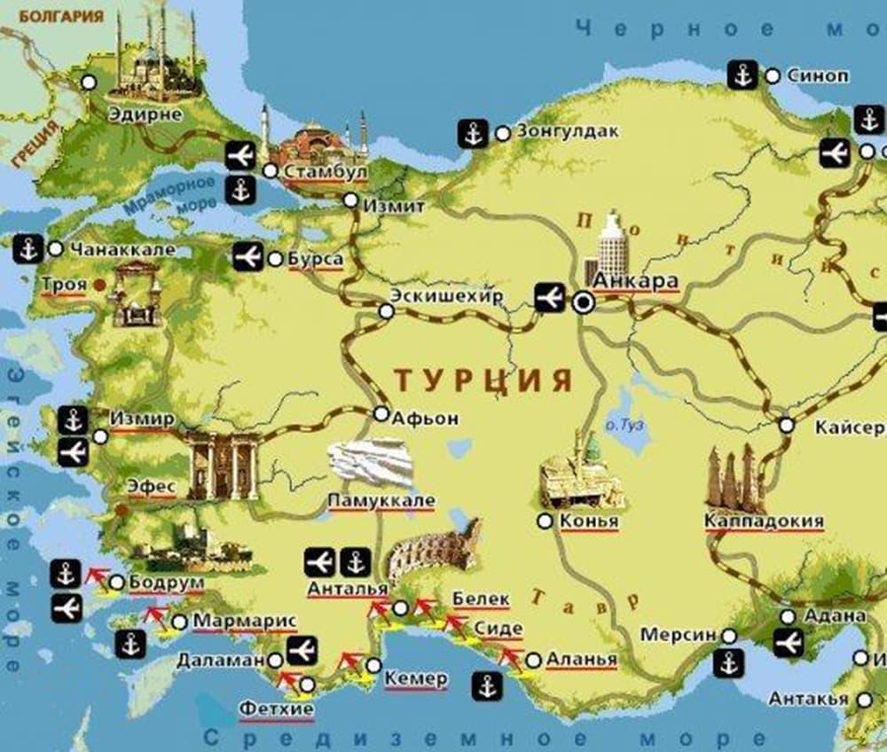 Turciya-karta-s-kurortami
