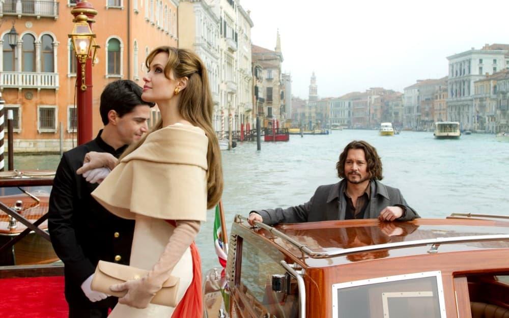 "Венеция кадры из фильма ""Турист"""