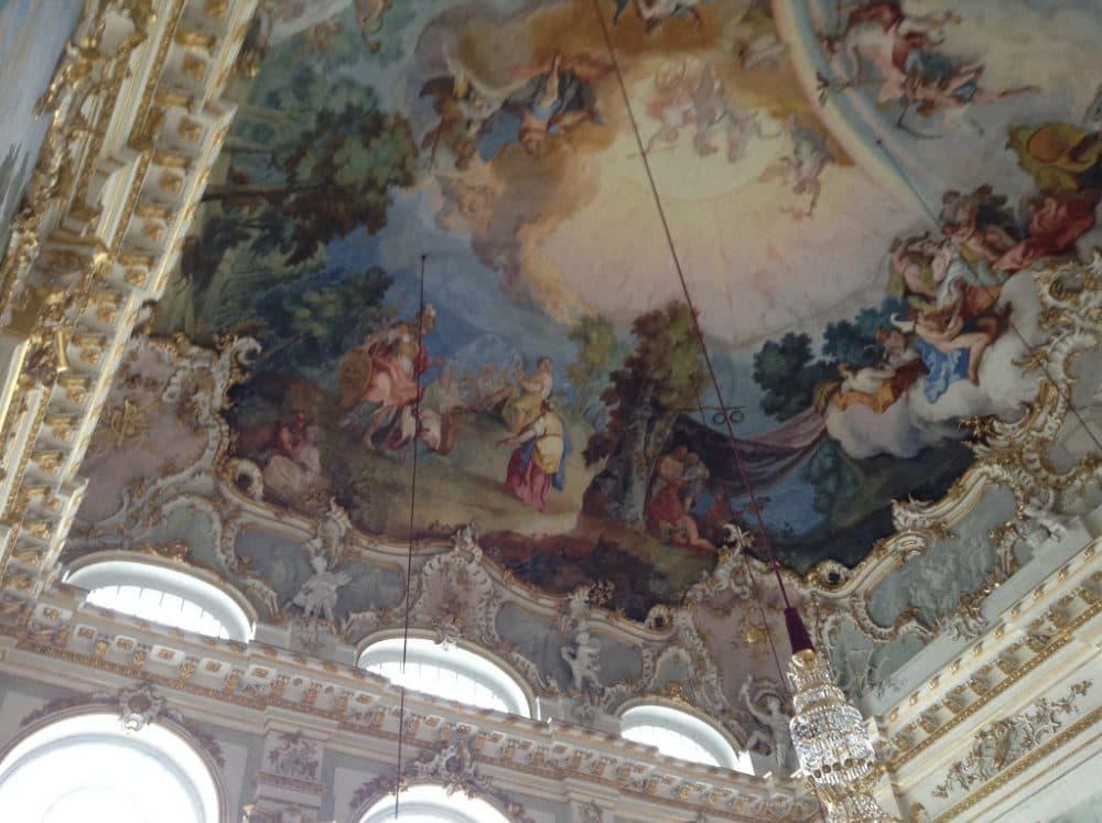 Дворец Нимфенбург интерьеры