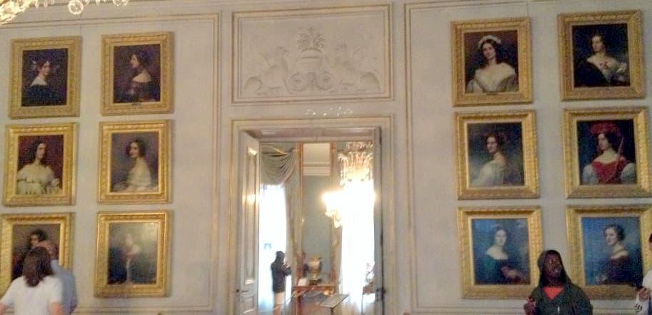Дворец Нимфенбург Галерея красавиц