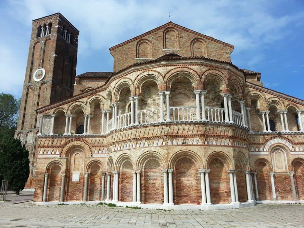 Остров Мурано базилика Св. Марии и Донато