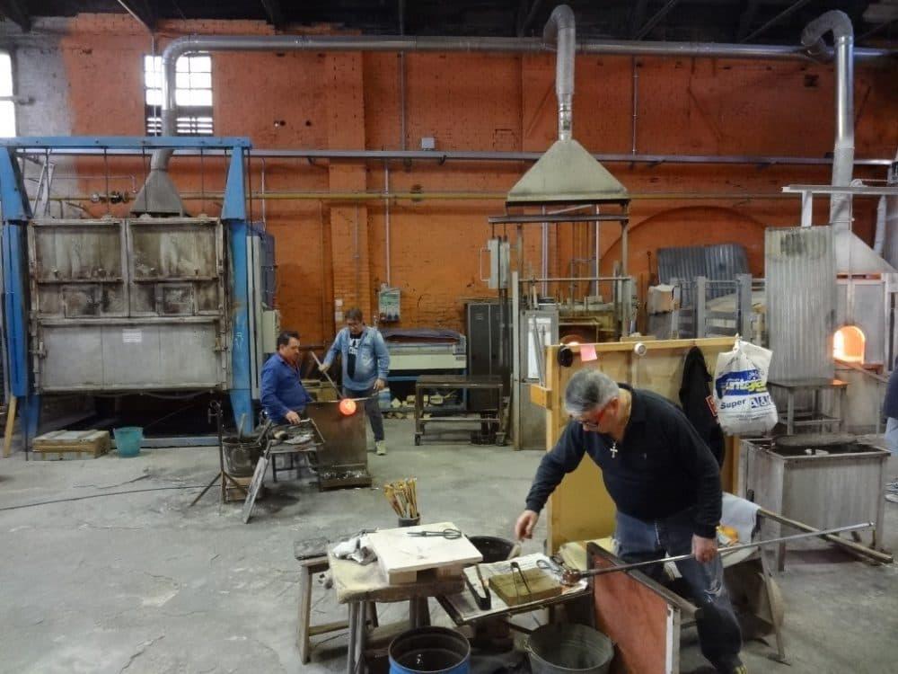 Остров Мурано стеклодувная мастерская
