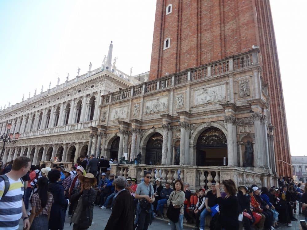 Кампанила собора Сан-Марко Венеция