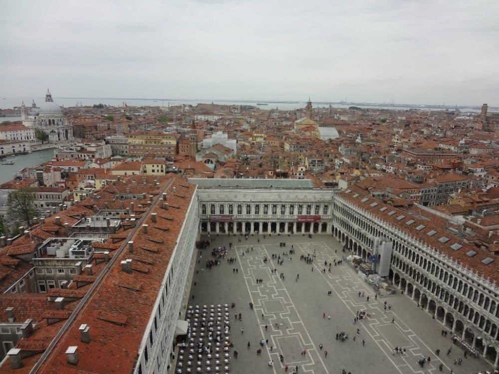 Венеция площадь Святого Марка вид сверху