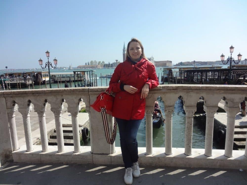 Венеция вид на лагуну