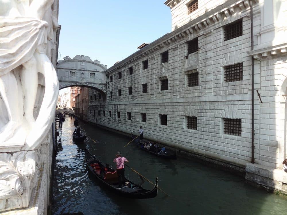Венеция здание Новой тюрьмы