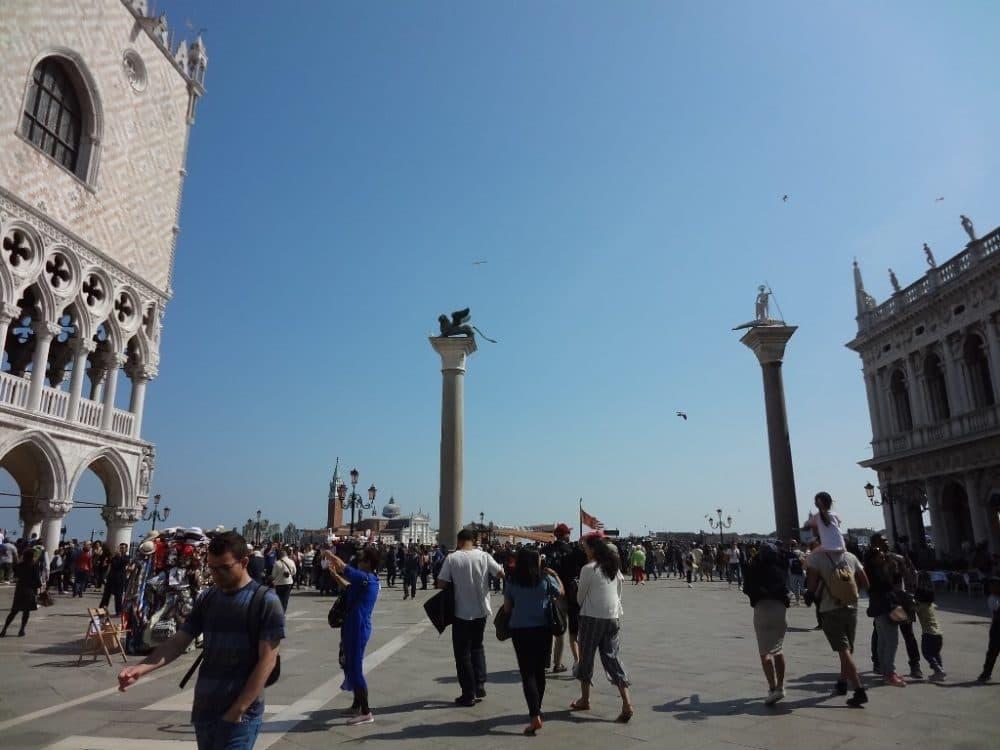 Venezia piazzetta San Marco