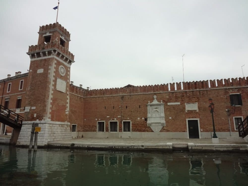 Венеция фото арсенал