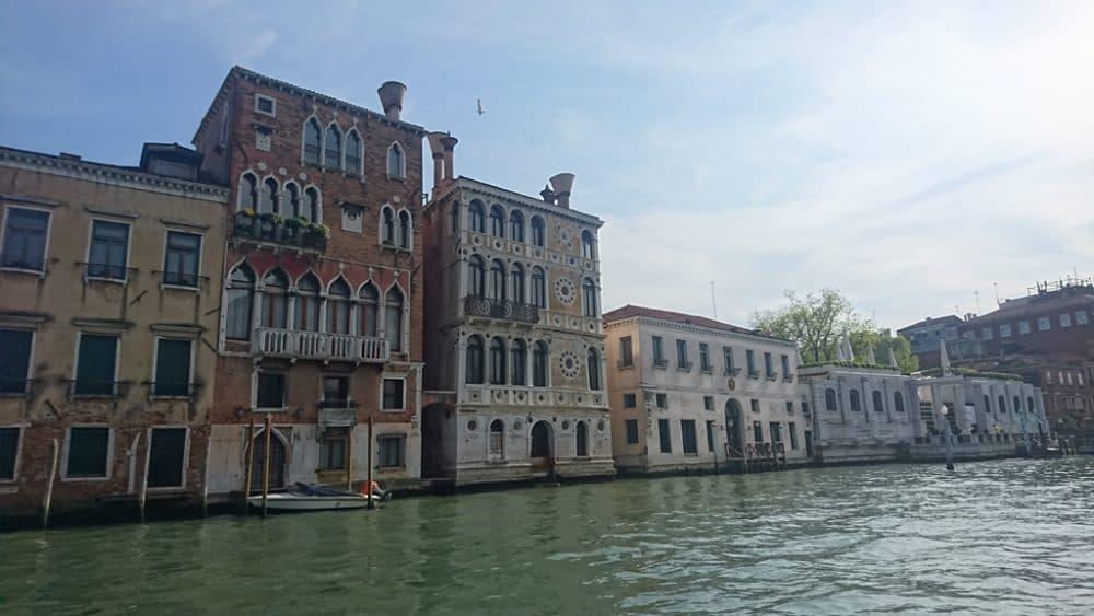 Венеция палаццо Ка Дарио