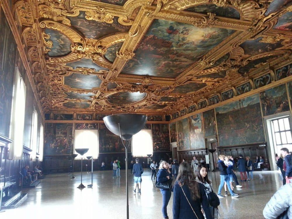 Venice Palace Doges interiors