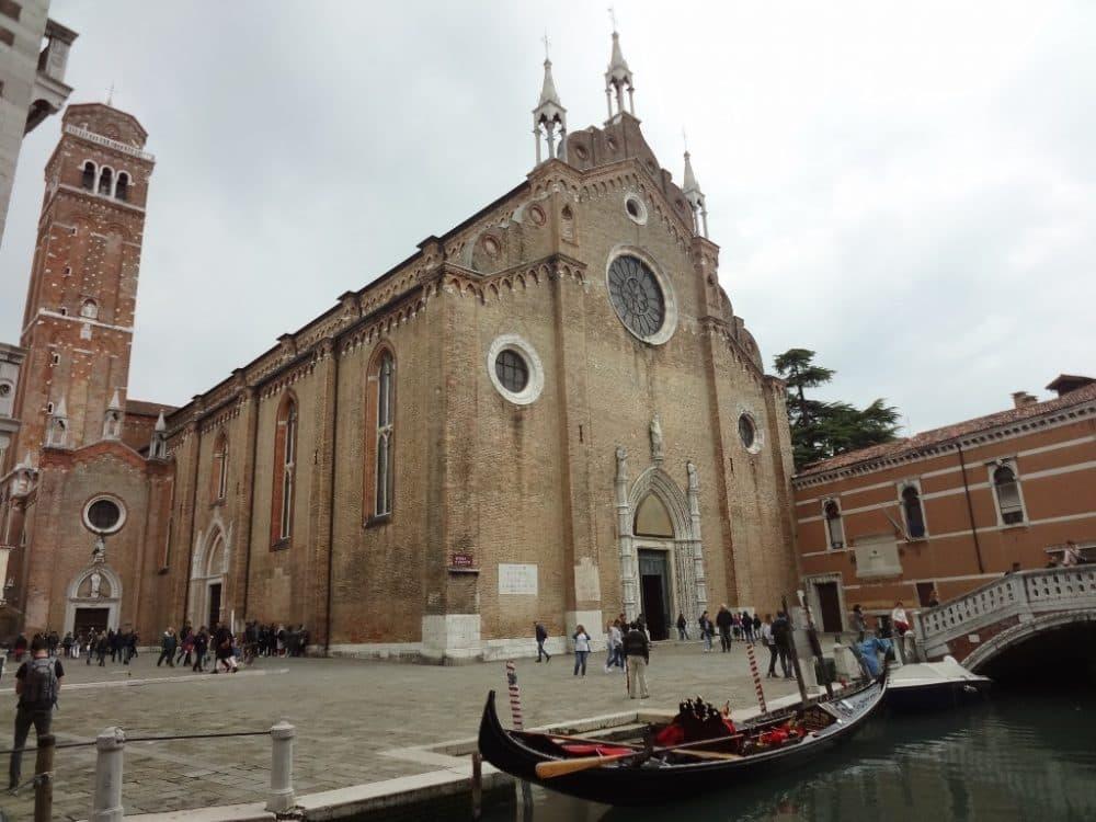Собор Санта-Мария Глориоза деи Фрари Венеция