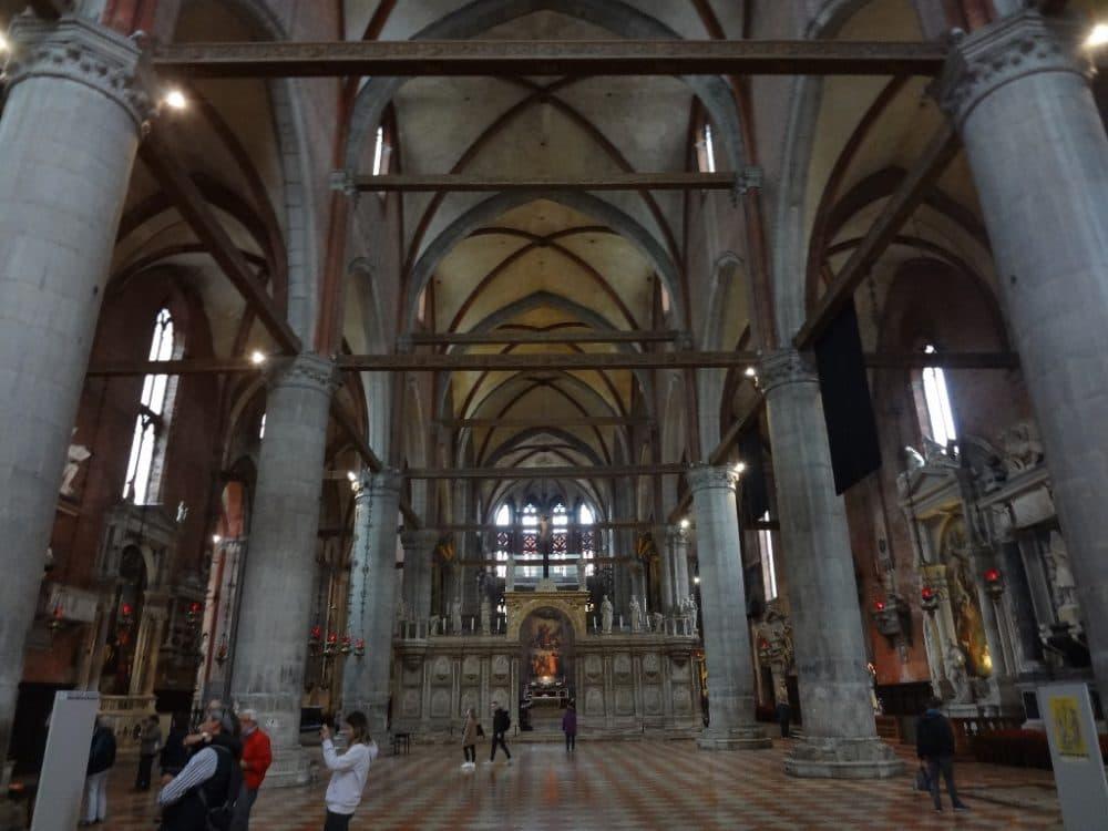 Венеция Собор Санта-Мария Глориоза деи Фрари
