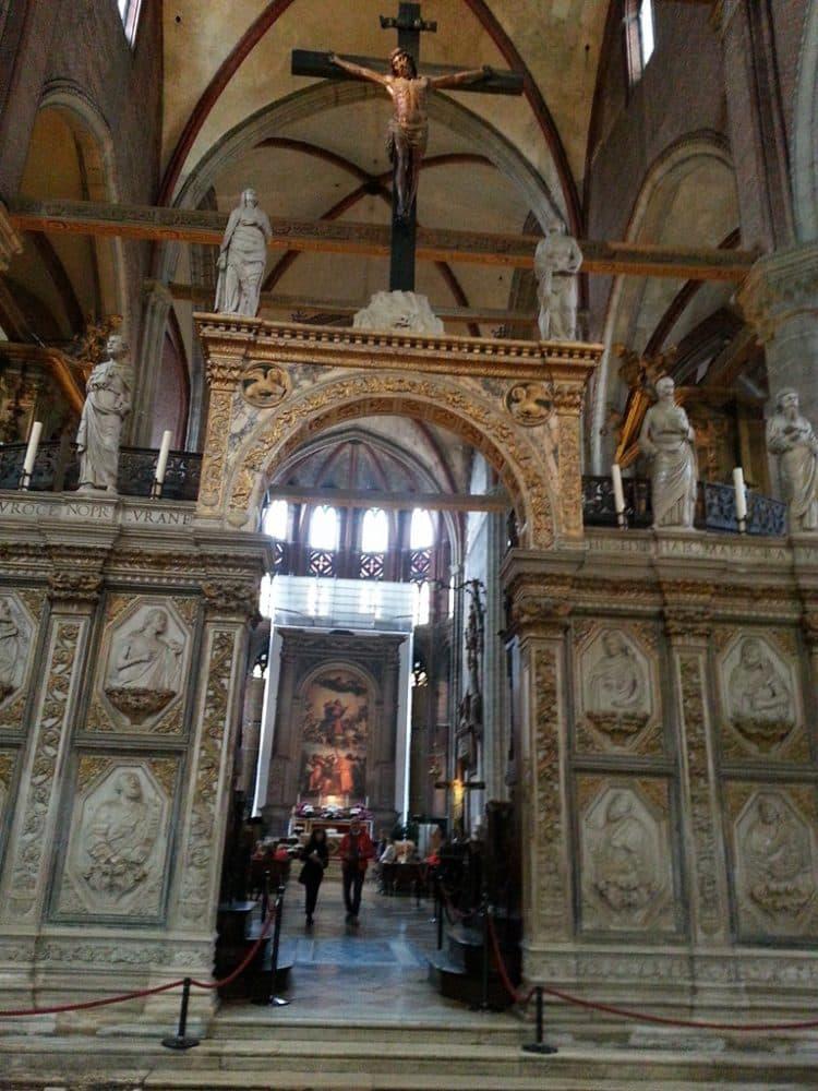 Венеция базилика Санта-Мария Глориоза деи Фрари