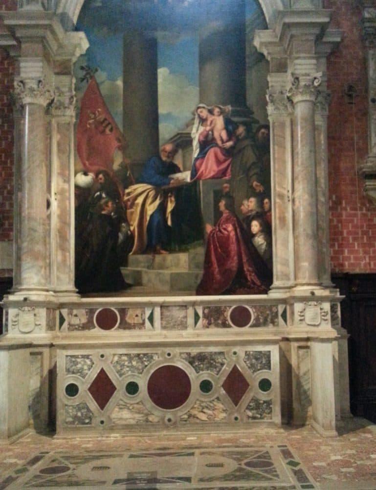 Базилика Санта-Мария Глориоза деи Фрари Венеция
