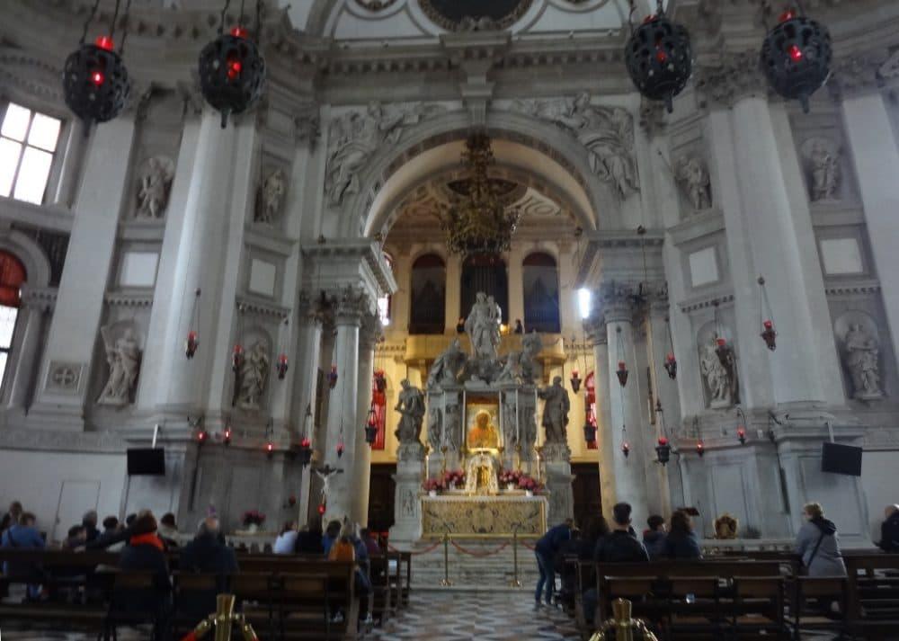 Венеция церковь Санта-Мария-делла-Салюте