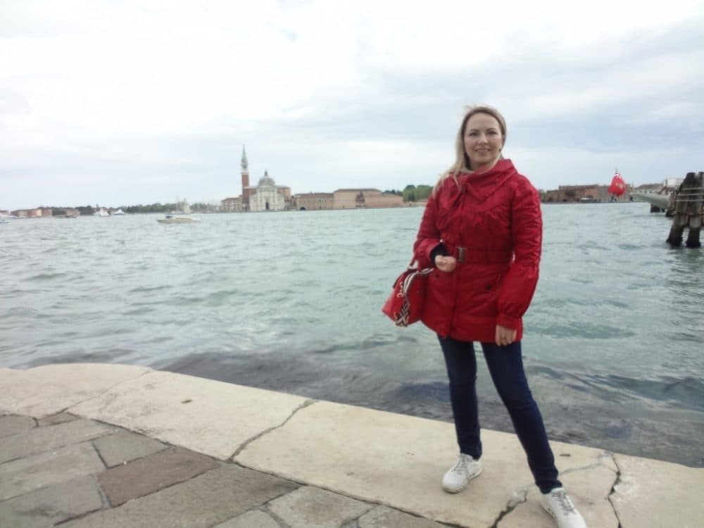 Венеция стрелка острова Дорсодуро