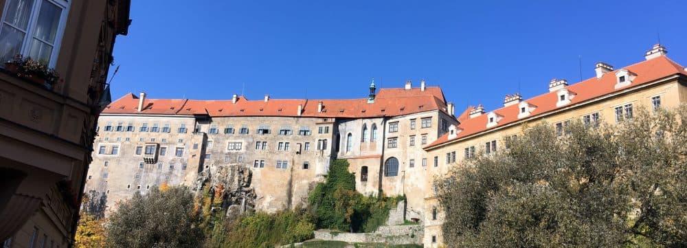 Чески Крумлов замок фото
