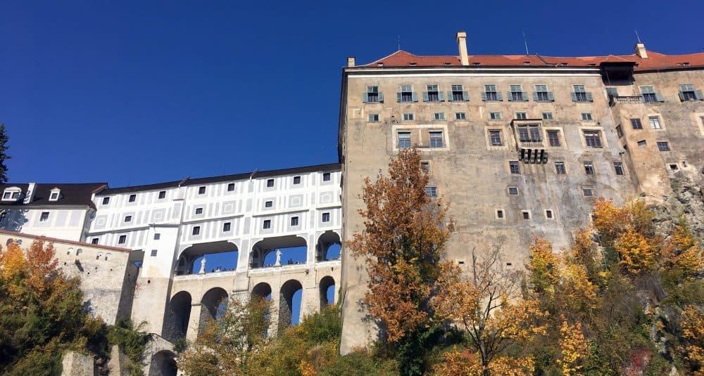 Чески Крумлов замок