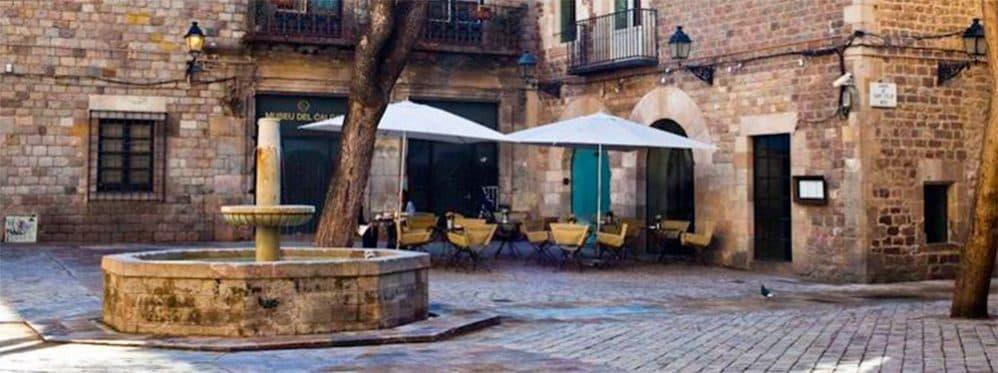 Готический квартал Барселона фото
