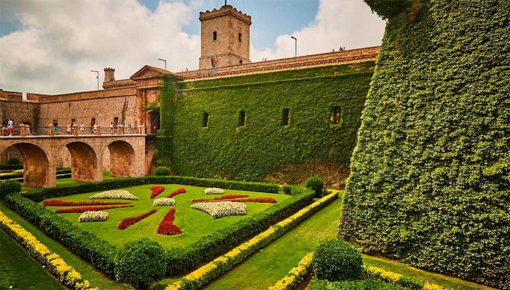Монтжуик крепость Барселона