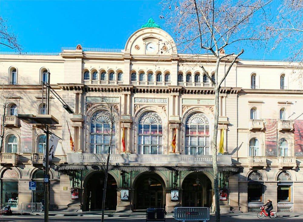Оперный театр Барселона