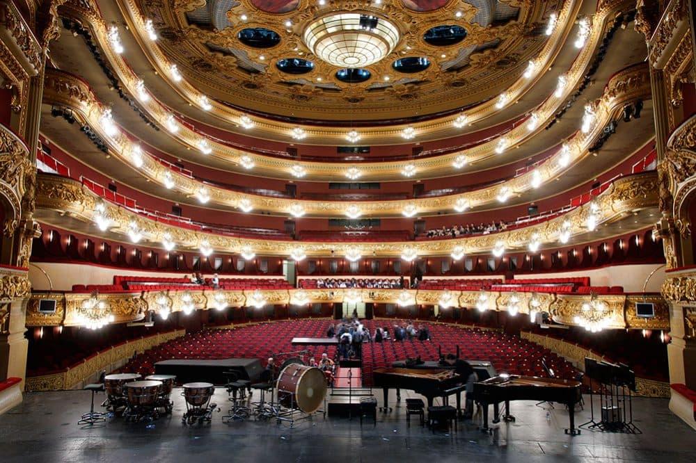 Барселона оперный театр