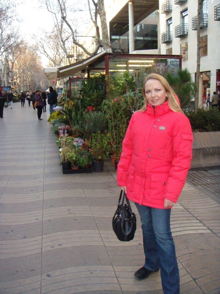 Барселона бульвар Рамбла
