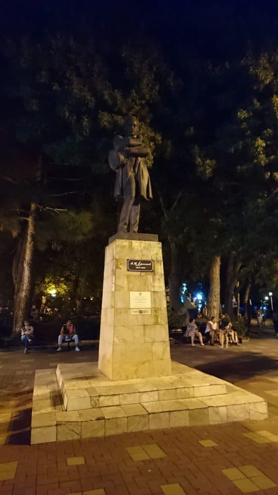Геленжик памятник Лермонтову
