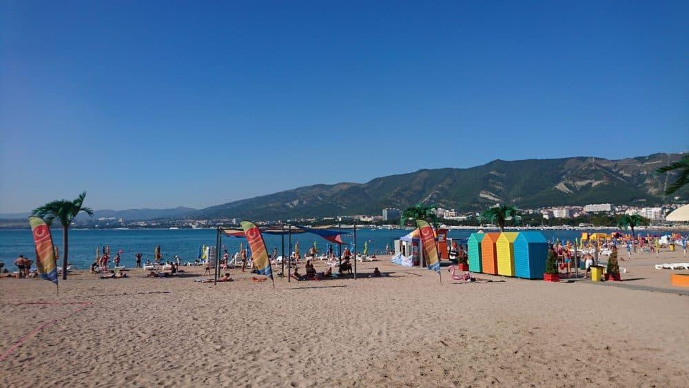 Геленджик пляж фото