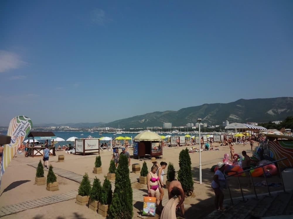 Пляжи Геленджика фото
