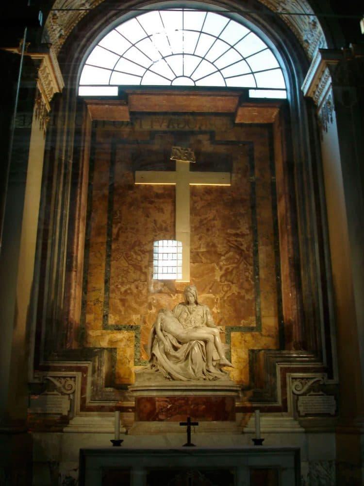 """Ватикан. """"Пьета"""" Микеланджело"""