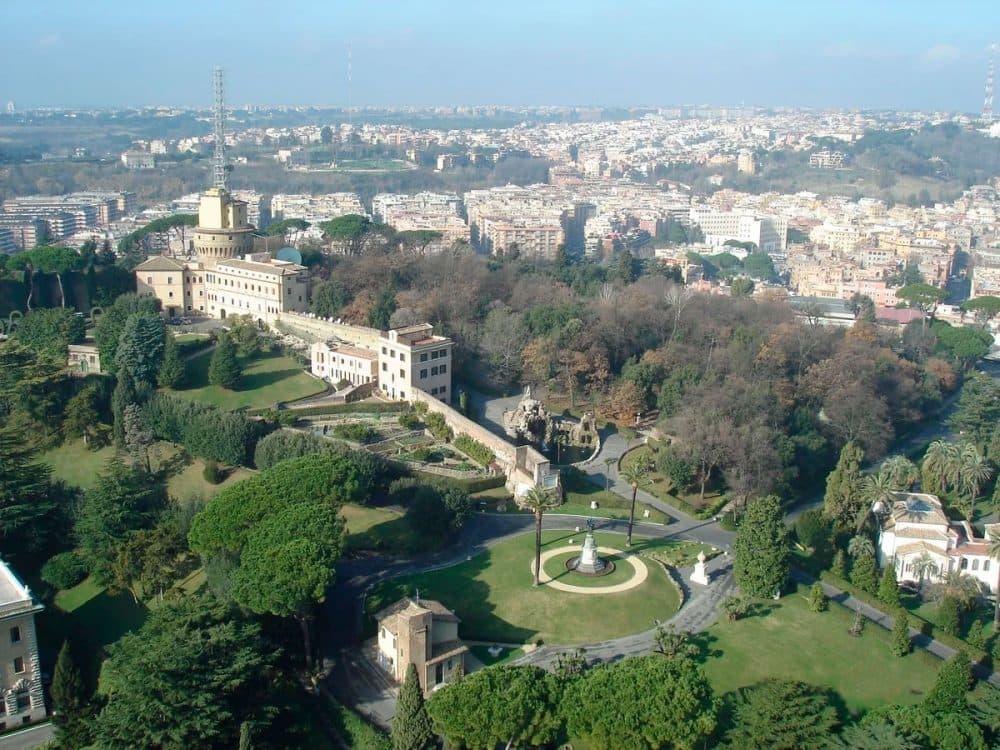 Ватикан. Папские сады
