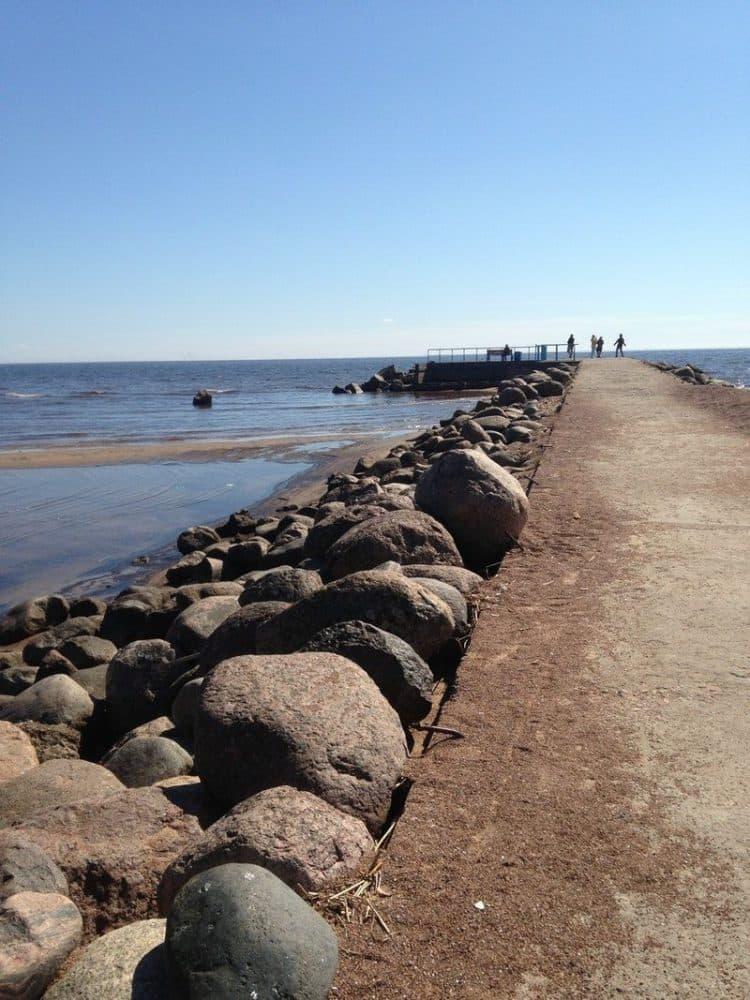 Финский залив Зеленогорск