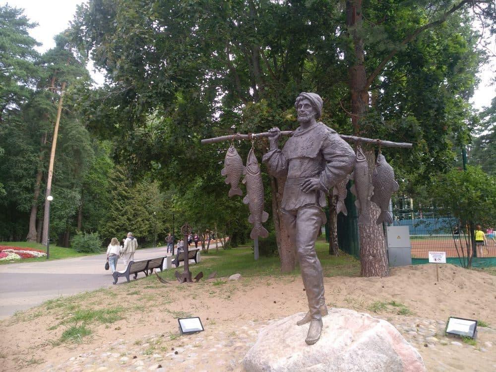 Зеленогорск скульптуры фото
