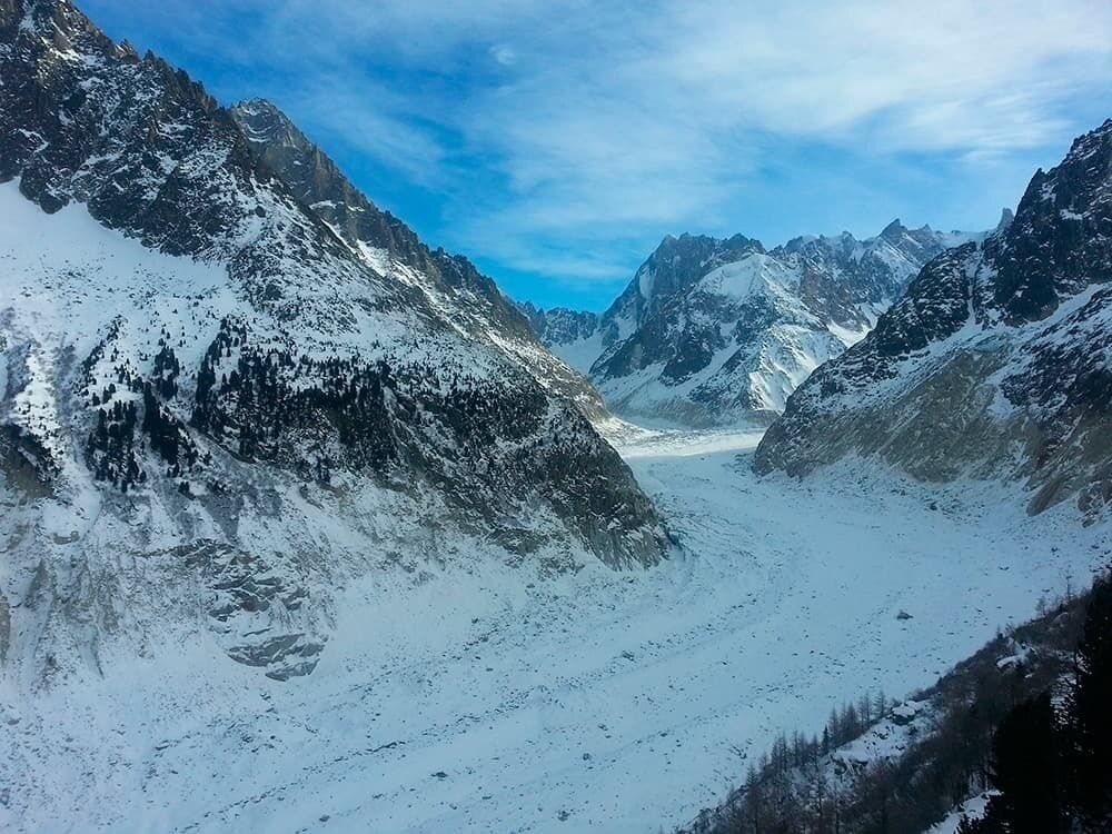 Шамони ледник фото