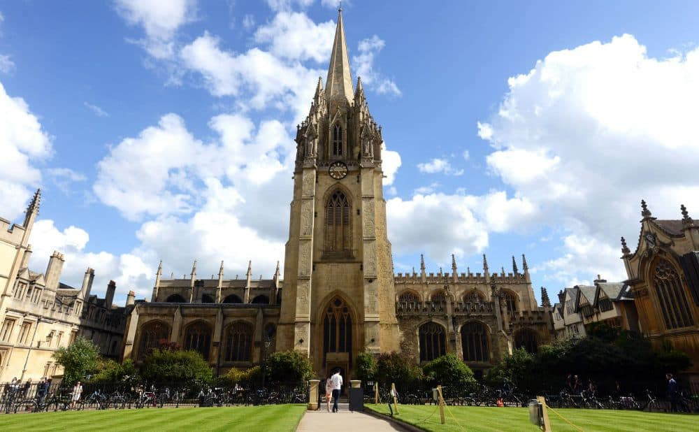 Оксфорд фото