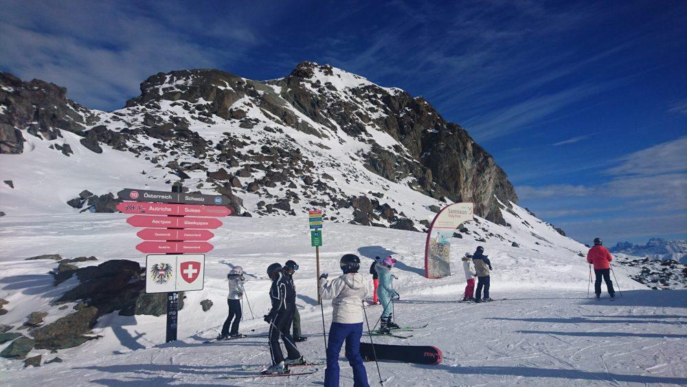 Ишгль горнолыжный курорт Австрия