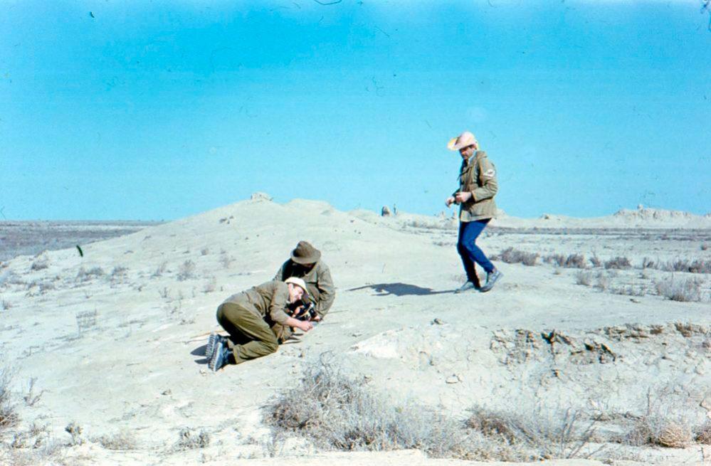 Пустыня Кызылкум поход