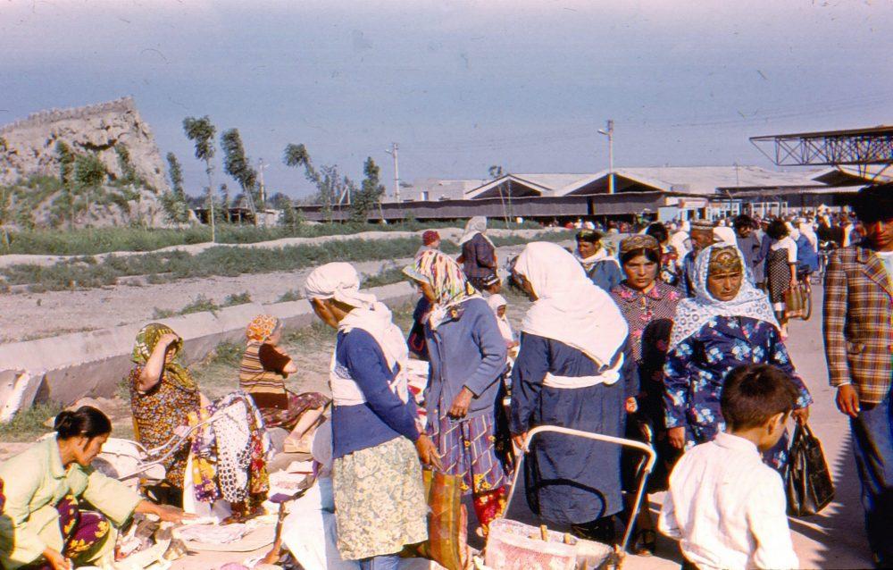 Базар в Бухаре фото