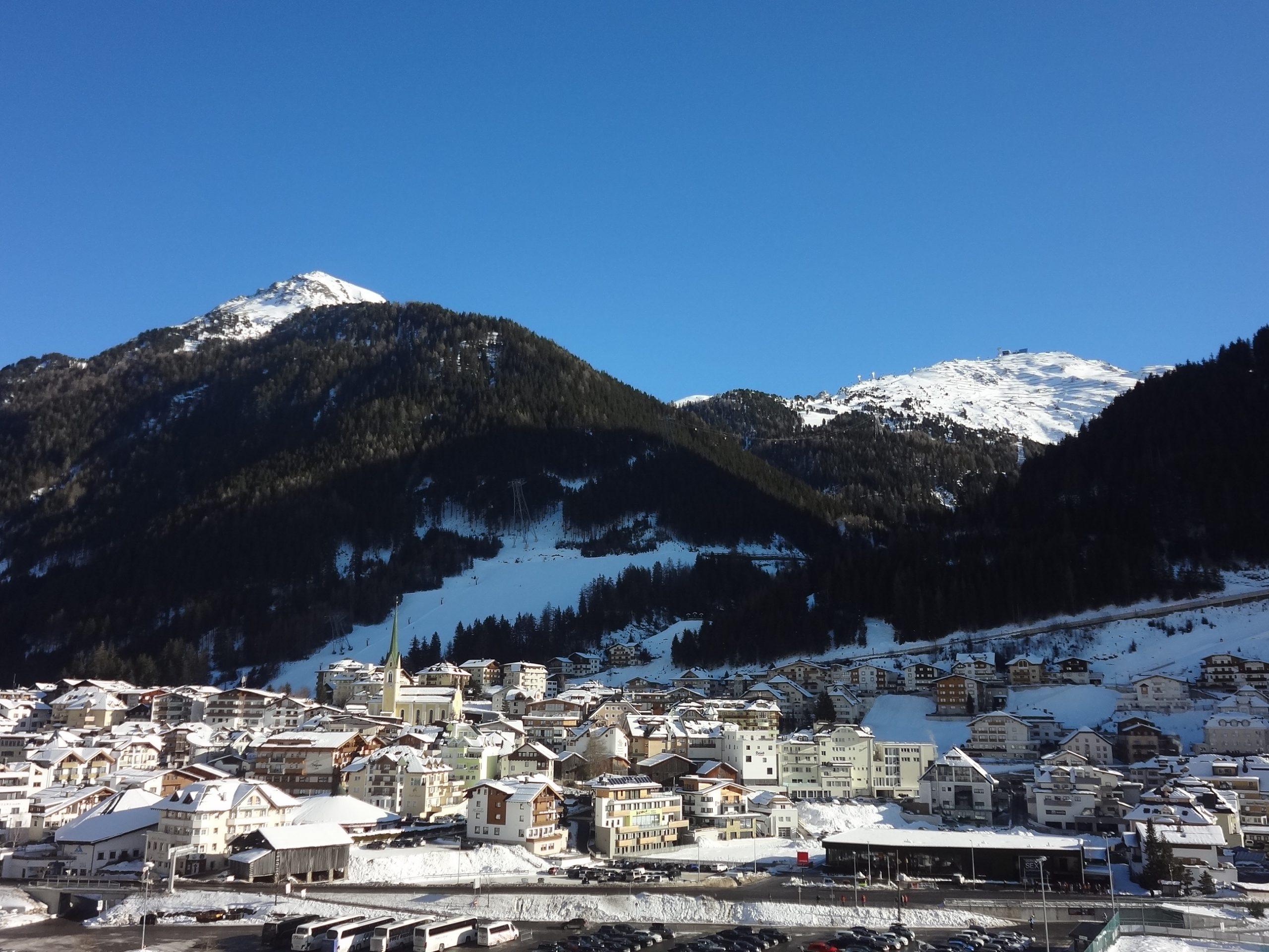 Ишгль лучший горнолыжный курорт Австрии
