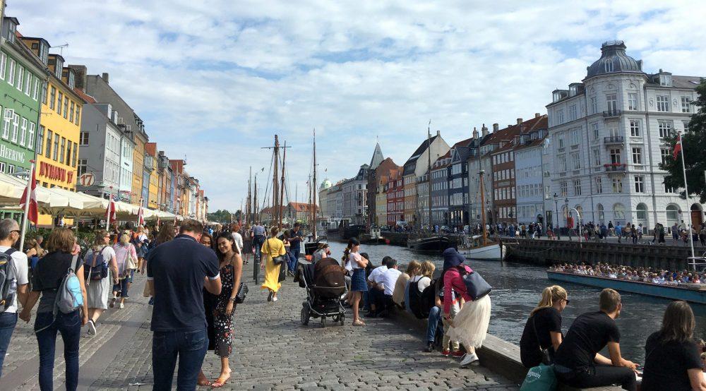 Копенгаген центральная набережная