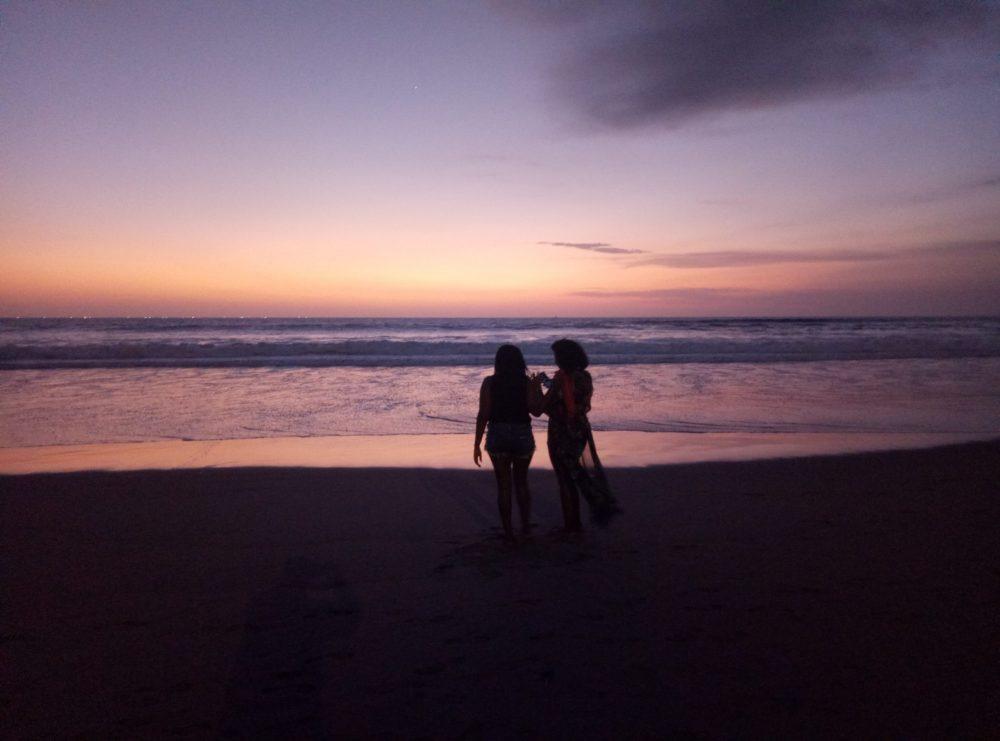 Бали закат фото