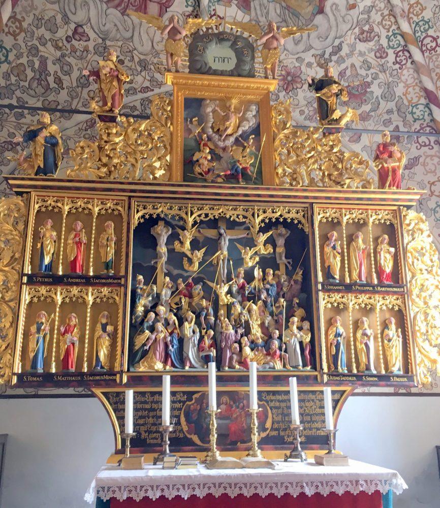 Мюгельтённер Дания церковь фото
