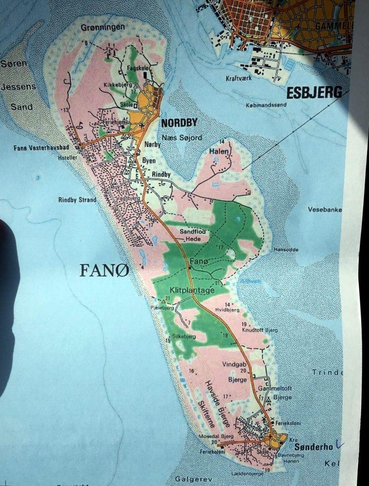 Остров Фане Дания
