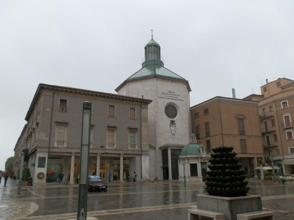 Римини площадь Тре мортири