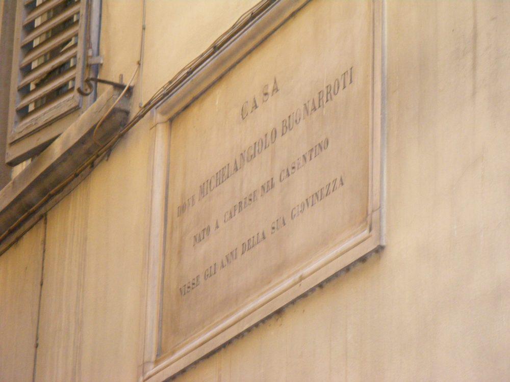 Дом Микеланджело во Флоренции